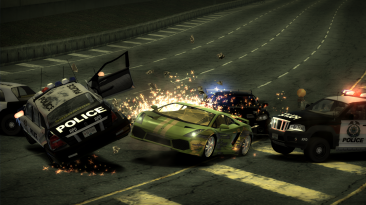 "Need for Speed: Most Wanted ""Переработанная система уровня розыска Heat Level"""