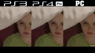 Beyond Two Souls Сравнение PS3 vs PS4 Pro vs PC
