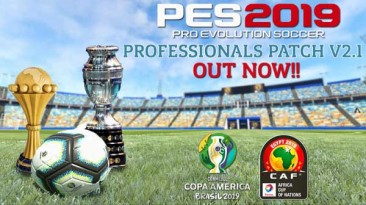 """PES 2019 """"Mini Update For Patch Pes Professionals 2019 V2.1"""""""