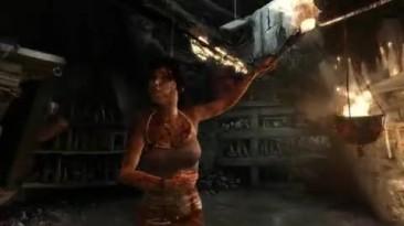 Демонстрация технологии просчета волос TressFX в Tomb Raider