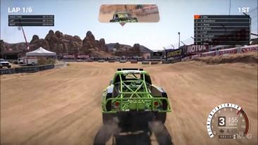 DiRT 4 - Калифорния, США - Land Rush Геймплей (PC HD)