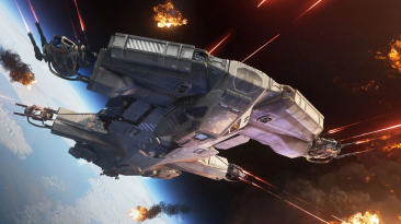 Новое видео Star Citizen - все о реках и космических боях; Краудфандинг достиг в 342.5 млн. долларов