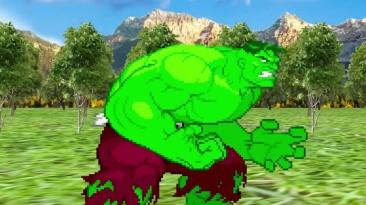 Broly VS. Hulk