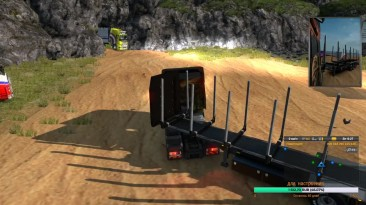 Euro Truck Simulator 2 Multiplayer Карта ProMods . Дорога в Парк Юрского периода