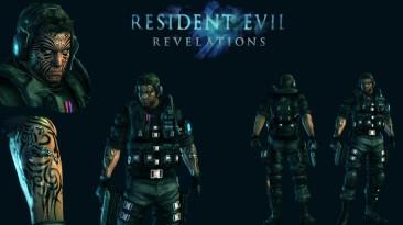 """Resident Evil: Revelations """"Warrior Chris wetsuit skin"""""""