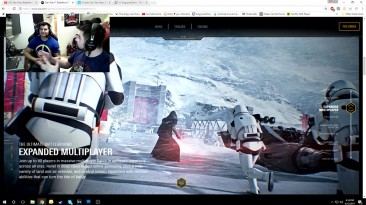 Реакция Ангри Джо на трейлер Star Wars: Battlefront 2 (2017)