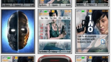 """Army of Two """"Theme for Nokia s40 240x320"""" by Yurax"""