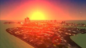 "Grand Theft Auto Vice City ""Project2DFX v4.3 Увеличение дальности прорисовки"""