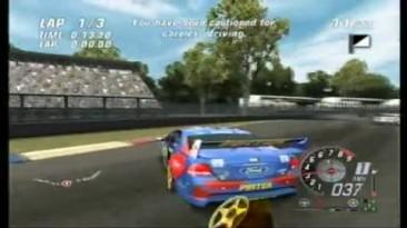 ToCA Race Driver 3 - Демонстрация столкновений