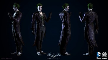 "Batman: Arkham Origins ""joker test mode"""
