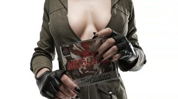 Косплей снайпера Вульф из Metal Gear Solid