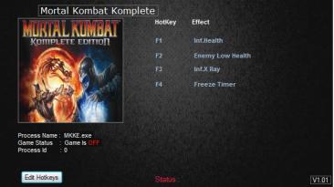 Mortal Kombat (2013) ~ Komplete Edition: Трейнер/Trainer (+4) [Update 07.27.2014] {MrAntiFun}