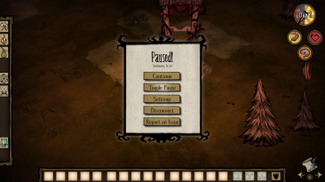 "Don't Starve ""Global Pause [DST] 1.3.2"""