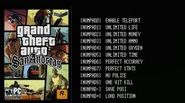 Grand Theft Auto: San Andreas: Трейнер/Trainer (+10) [Latest Steam] {LIRW / GHL}