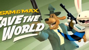 Русификатор текстур и звука для Sam & Max: Save the World - ПК, Switch-версия