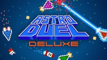 Скоростной мультиплеерный космошутер Astro Duel Deluxe вышел на Switch