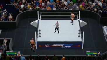 "WWE 2K16 ""SmackDown Live Led Apron"""