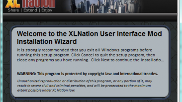 "Cities XL 2012 ""XLNation UserInterfaceMod v1.79.8"""