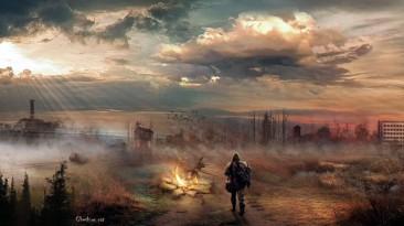 Чернобыльская АЭС и одинокий сталкер - разработчики S.T.A.L.K.E.R. 2 опубликовали подборку артов по игре