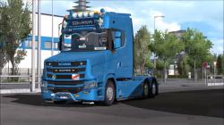 "Euro Truck Simulator 2 ""Грузовик Scania S New Gen Tcab v3.1.1 (v1.39.x)"""