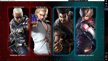 Tekken Tag Tournament 2 на PC - эмулятор RPCS3