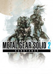 Обложка игры Metal Gear Solid 2: Substance