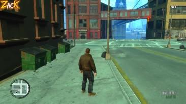 Какой конец карты в разных играх GTA