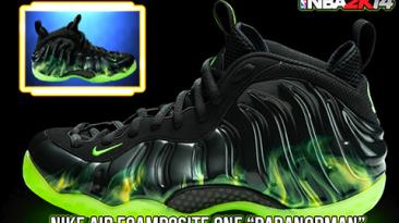 "NBA 2K14 ""Nike Paranorman Foamposite One"""