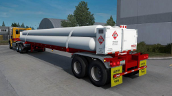 """American Truck Simulator """"Мод CNG 7Tubes ISO 48FT Трайлер v2.3 (1.39.x)"""""""