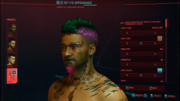 Игроки Cyberpunk 2077 провели 6 360 000 часов в редакторе персонажа