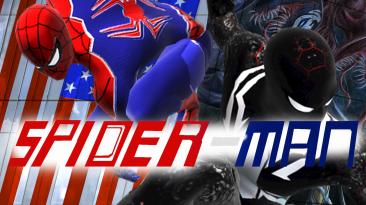 """Spider-Man: Web of Shadows """"Красный-Черный костюм - Spider Man Nano-Simbiotion"""""""