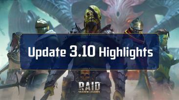 Новые чемпионы и награды в патче 3.20 RAID: Shadow Legends
