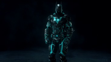 "Batman: Arkham Knight ""Batman Beyond Tron Skin (Turquoise) (Бирюзовый)"""