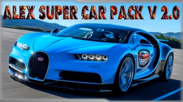 "Test Drive Unlimited 2 ""Alex Super Car Pack v2.0"""