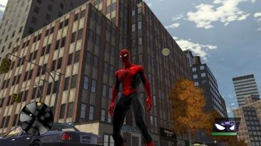 """Spider-Man: Web of Shadows """"Концепт скина на красный костюм"""""""