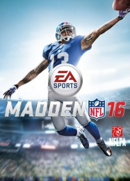 Обложка игры Madden NFL 16