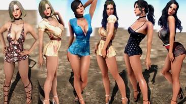 "Fallout 4 ""Летние платья"""