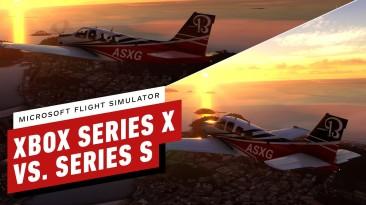 Новые сравнительные видео Microsoft Flight Simulator демонстрируют впечатляющее качество графики на Xbox Series S