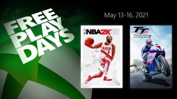 """""""Дни бесплатной игры"""" с NBA 2K21 и TT Isle of Man: Ride on the Edge 2 на Xbox"""
