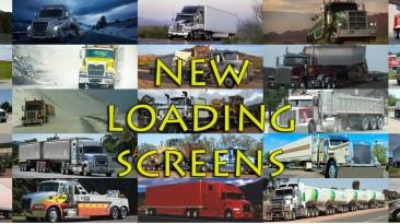 """American Truck Simulator """"75 новых загрузочных экранов"""""""