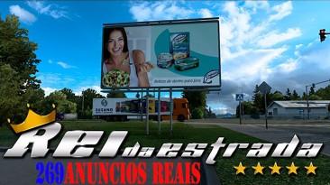 "Euro Truck Simulator 2 ""Реальная реклама (1.41.х)"""