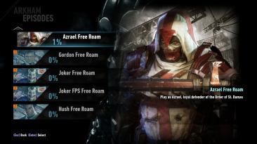 "Batman: Arkham Knight ""Built-In Free Roam Mod"""