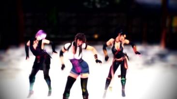 DOA Xtreme 3-танец