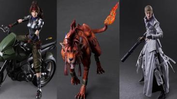 Представлены фигурки Джесси, Реда XIII и Руфуса из Final Fantasy VII Remake