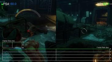 BioShock 2: PS4 vs Xbox One vs PC Частота кадров (DigitalFoundry)