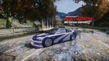 """Need for Speed: Most Wanted """"Графическая сборка - Definitive Edition"""""""