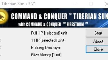 C&C: Tiberium Sun + Firestorm: Трейнер/Trainer (+4) [2.03] {WhiteSnoop}