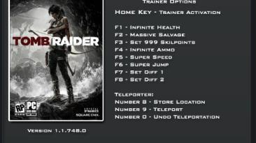 Tomb Raider (2013): Трейнер/Trainer (+9) [1.1.748.0] {LinGon}