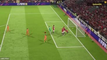 FIFA 18 Компиляция фейлов