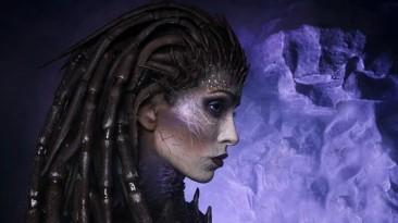 Косплей Сары Керриган из StarCraft